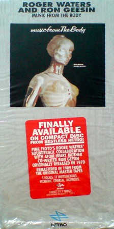 Roger Waters, Music from the body, Retro, 7 72395-2