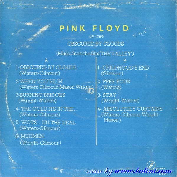 Curtains Ideas absolutely curtains pink floyd : 1972 : Pink Floyd Obscured by Clouds