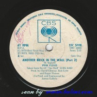 Pink Floyd, Another Brick in the Wall, Young Lust, CBS, SSC 5018