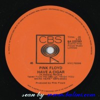 Pink Floyd, Have a Cigar, Welcome to the Machine, CBS, BA 222183
