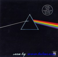 Pink Floyd, The Dark Side of the Moon, (1st), EMI, SHVLA 804