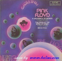 Pink Floyd, The piper at the gates of dawn, A Saucerful of Secrets, EMI, 1C 062-04190.292