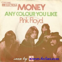 Pink Floyd, Money, Any Color You Like, EMI, 1C 006-05368