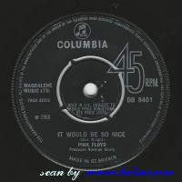 Pink Floyd, It Would be so nice, Julia Dream, Columbia, DB 8401
