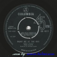 Pink Floyd, Point me at the sky, Careful with that axe, Eugene, Columbia, DB 8511
