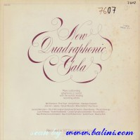 Various Artists, New Quadraphonic Gala, Columbia, ASQ 205