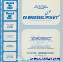 Various Artists, Zabriskie Point, Whats the Point, Erwin, SOF 5