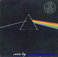 Pink Floyd, The Dark Side of the Moon, Harvest, SHLP 9510