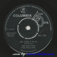 Pink Floyd, See Emily Play, Scarecrow, Columbia, DSA 738