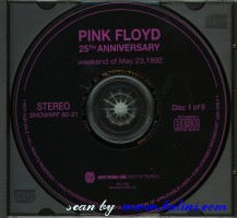 Pink Floyd, 25th Anniversary, Westwood One, #92-21