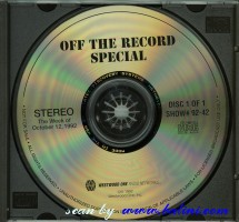 Pink Floyd, Off The Record Special, Westwood One, #92-42