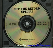 Pink Floyd, Off The Record Special, Westwood One, #95-31