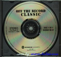 Pink Floyd, Off The Record Classic, Westwood One, #96-41