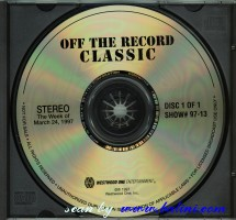 Pink Floyd, Off The Record Classic, Westwood One, #97-13