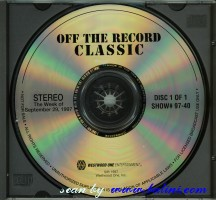 Pink Floyd, Off The Record Classic, Westwood One, #97-40