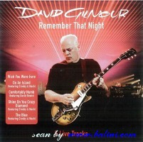 David Gilmour, Remember that Night, , 88697 14335 2