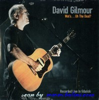 David Gilmour, Whots Uh The Deal, Columbia, 88697 36939 2