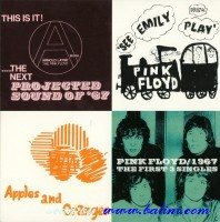 Pink Floyd, The first 3 singles, EMI, CDEMD 1117