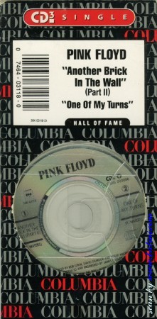 "Pink Floyd, Another Brick, in the Wall 3"", , 38K 03118"
