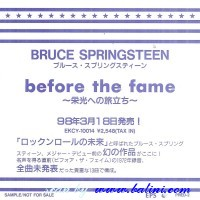Bruce Springsteen, Before the Fame, EPS, PRED-2