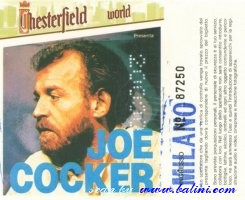Joe Cocker, Milano, , 04-06-1986