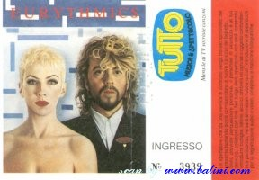 Eurythmics, Milano, , 08-11-1986