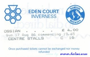 Ossian, Inverness, , 17-08-1986