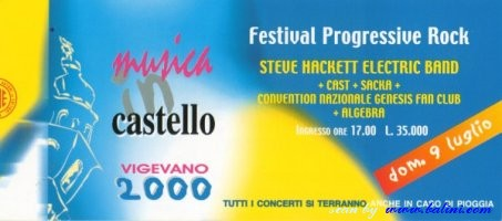 Various Artists, Progressive rock festival, Vigevano, , 09-07-2000