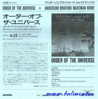 ABWH, Order of the Universe, Fist of Fire, BMG, PRTD-3080